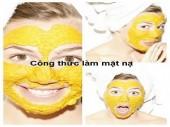 Hướng dẫn làm mặt nạ đắp mặt bằng tinh bột nghệ