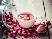 Trà hoa Hồng sấy lạnh nguyên bông