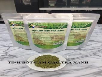 Tinh bột cám gạo trà xanh